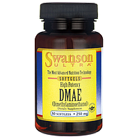 DMAE, 250 мг. 30 капсул