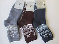 Теплі красиві шкарпетки на зиму, фото 1