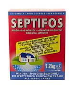 Порошок для выгребных ям Septifos 1,2 кг, биоактиватор, бактерии, средство