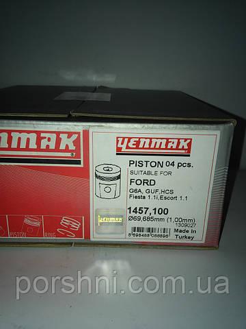 Поршни  68,7  + 1  Ford    Fiesta  1.1 88 --   ENMAC 1457100   без  колец