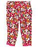 Детские трикотажные штаны для девочки  3-6, 6-12  месяца.