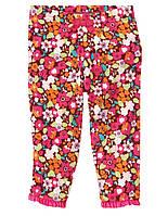 Детские трикотажные штаны для девочки 3-6 месяцев