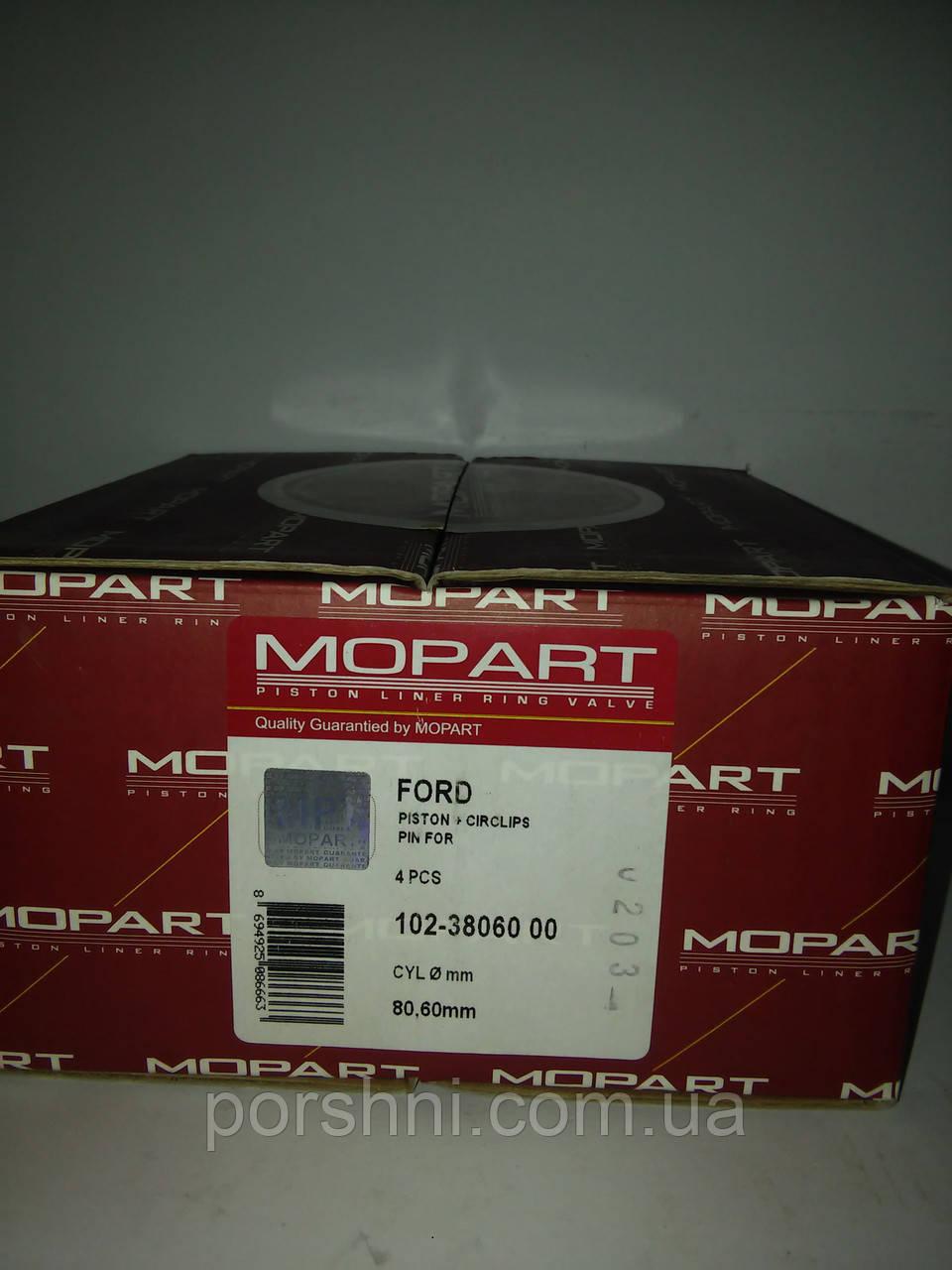 Поршни Ford  Сonnect  1.8  ZETEC  80.6 STD   ( 1.2 x 1.5 x 2.5 )   Mopart 3806000 б/кол