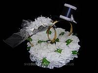 Кольца на крышу свадебного авто Невеста (белая)