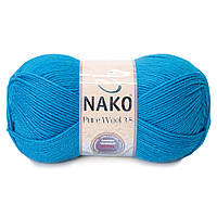 Турецька пряжа, нитки для в'язання Nako Poor Wool, фото 1