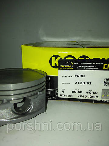 Поршни Ford  Connect  1,8  ZETEC  80.6 + 0.50  ( 1.2 x 1.5 x 2.5 ) Koneks  212392 б/кол