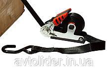 Стяжной ремень с храповым натяжителем и возвратным механизмом, 4500 мм