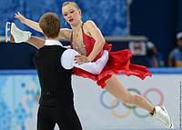 Командные соревнования. Танцы на льду. Короткий танец.