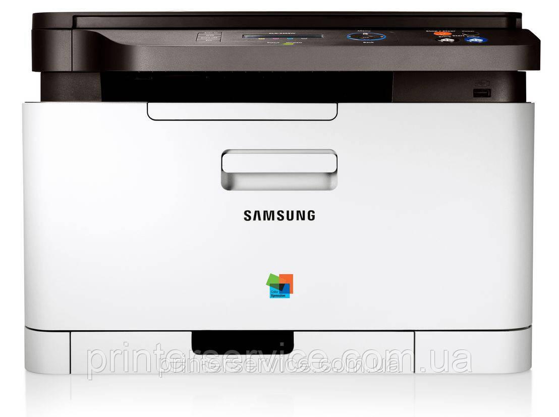 Кольоровий лазерний БФП Samsung CLX-3305W c Wi-Fi формату А4