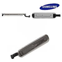 Заглушка коннектора зарядки для Samsung G900H Galaxy S, оригинал (белая)