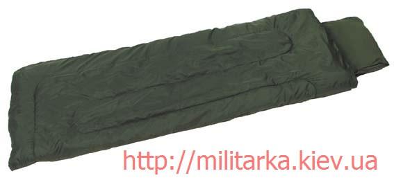 Спальный мешок MFH двухслойный olive