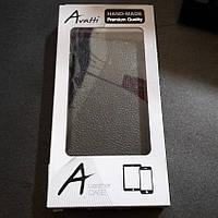 Чехол книжка Avatti Nokia Lumia 530 чорный новый