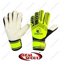 Перчатки вратарские подростковые с защитными вставками FB-579-2 FDsport