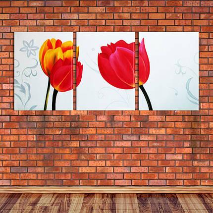 "Модульная картина ""Тюльпаны"", фото 2"