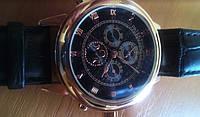 Часы  Patek Philippe Sky Moon Tourbillon Gold черные. Элит качество!