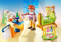 Конструктор Playmobil Детская комната с люлькой 5304