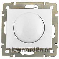 Legrand Valena Белый Светорегулятор поворотный 400W без рамки