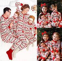 Пижамы для всей семьи Пижама для мамы, папы и детей