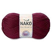 Турецька пряжа, нитки для в'язання Nako Poor Wool