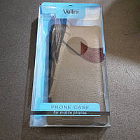 Чехол книжка Vellini Nokia Lumia 830 черный новый