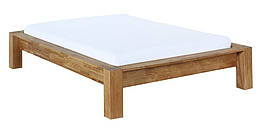 Кровать из массива дерева 073