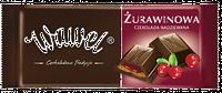Шоколад Wawel черный с клюквенной начинкой 100г
