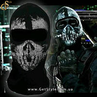 "Балаклава с игры Call of Duty - ""Skull Face"", фото 1"