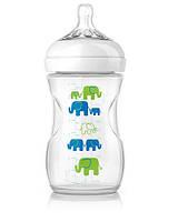 Бутылочка для кормления Natural Elephant Deco 260 мл