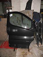 Дверь передняя правая черная на Renault Trafic, Opel Vivaro, Nissan Primastar