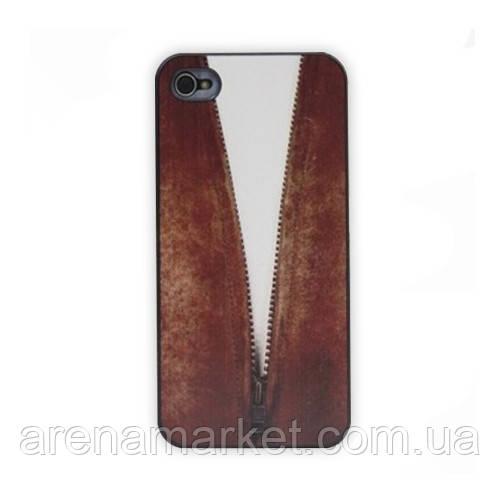 Чохол для iPhone 4/4S Діловий стиль - коричневий