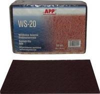 APP Волокно абразивное универсальное (скотч-брайт), красное