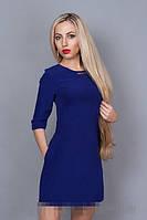 Платье мод. 237-3,размер 44,46,48 электрик (А.Н.Г.)