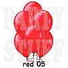 Воздушный шар Gemar G110 Пастель Красный 12' (30 см), 100 шт