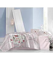 Комплект постельного белья Altinbasak Perlita Pembe Ранфорс 200*220