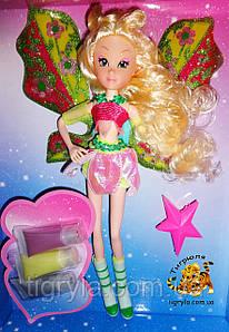 Кукла Фея Винкс (Winx) Флора - с красками для волос