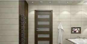 Какие двери лучше ставить в ванную и туалет?