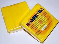 Полимерная глина Пластишка, №0105 желтый G, 75 г