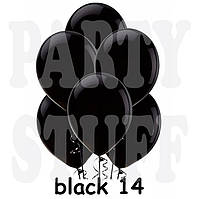 Воздушные шарики Gemar G110 Пастель Черный 12' (30 см), 100 шт