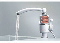 Кран-смеситель с функцией мгновенного нагрева воды типа Delimano