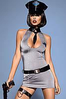 Женское эротическое белье костюм Police dress