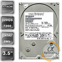 "Жесткий диск 3.5"" 320Gb Hitachi HDT725032VLA380 (8Mb/7200/SATAII) БУ"