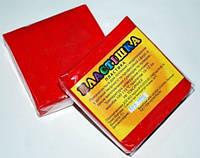 Полимерная глина Пластишка, №0108 красный алый, 75 г