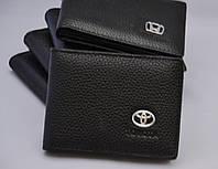 Кожаная обложка для прав с логотипом Toyota (Тойота)
