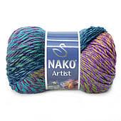 Nako Artist (35% вовна, 65% акрил / 150м / напіввовна)