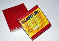 Полимерная глина Пластишка, №0110 бордовый, 75 г