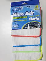 Салфетка из микрофибры Duzzit Micro-Soft Wash&Wipe 4 шт. , Великобритания
