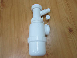 Сифон для кухонной мойки бутылочного типа 40 мм (Италия)