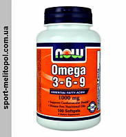 NOW Omega 3-6-9 250 капс.