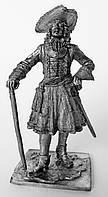 Оловянная скульптура. Штаб-офицер Преображенского полка 1700 г.