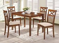 Стол для кухни Ривьера, орех,  1100*700*750, стол нераскладной прямоугольный